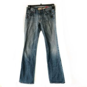 7FAM Great China Wall Embellished Jeans Size 28